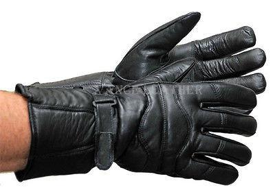 VL400 Vance Leather Insulated Lambskin Winter Gauntlet Gloves
