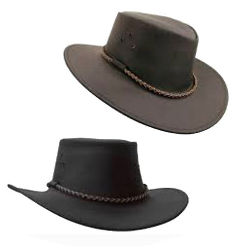 Bush Walker Outback Leather Hat - Quality Cheap Fedora hats