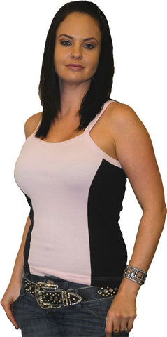 VB102 Ladies Two Tone Tank