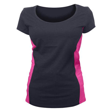 VB006/VB106 - Ladies Shirts with Side Accents