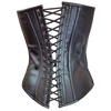 VC1317 Vance Leather Ladies 6 Buckle Zip Front Corset