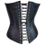 VC1319 Vance Leather Ladies Zip Front Corset