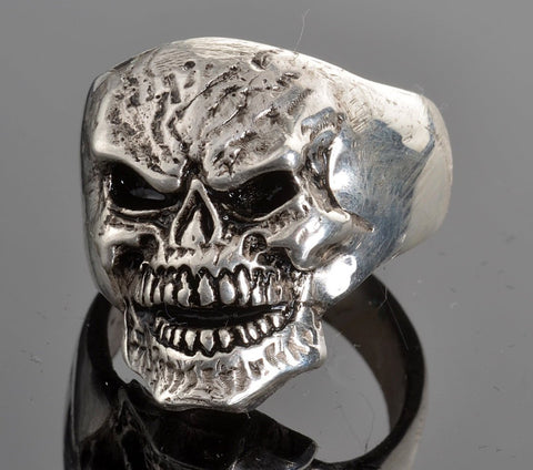 VJ1027 Stainless Steel Men's Mister Skull Ring