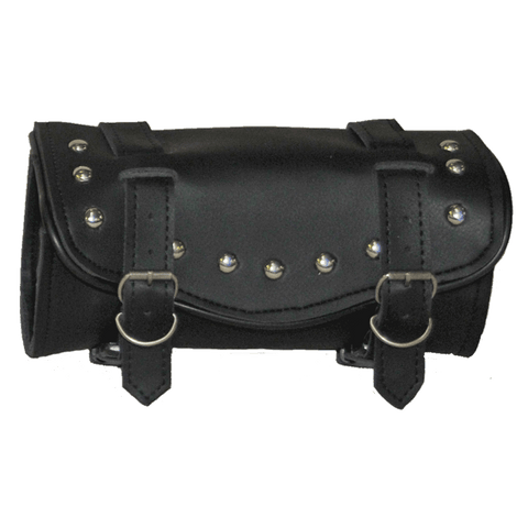 VS101H Vance Leather 2 Strap Studded Hard Shell Tool Bag with Quick Releases
