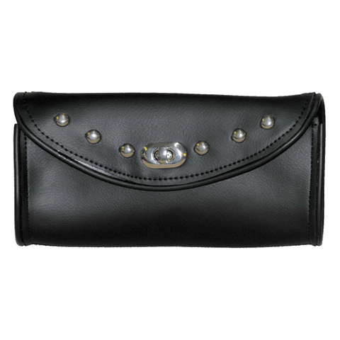 VS182 Vance Leather Studded Windshield Bag