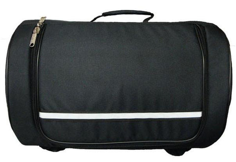 VS361 Vance Leather Textile Sissy Bar Roll Bag
