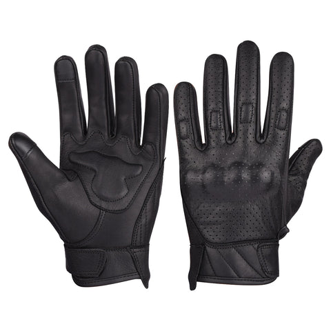 VL412 Men's Premium Leather Perforated Glove