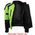 Womens Advanced 3-Season CE Armor Hi-Vis Mesh Motorcycle Jacket