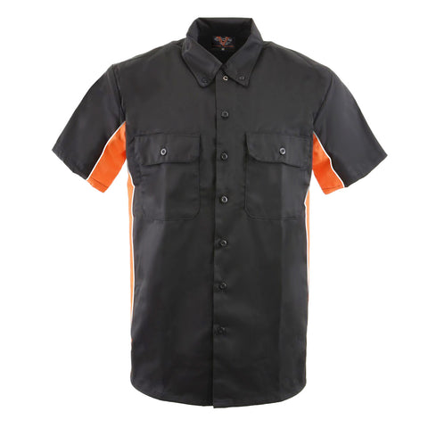 VB771 Men's Work Shirts in Various Color Sides