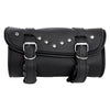 VS112 Vance Leather 2 Strap Studded Tool Bag with Quick Releases