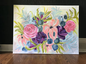 30x40 Once Upon a Bouquet