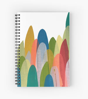 Notebook in Fall Feathers