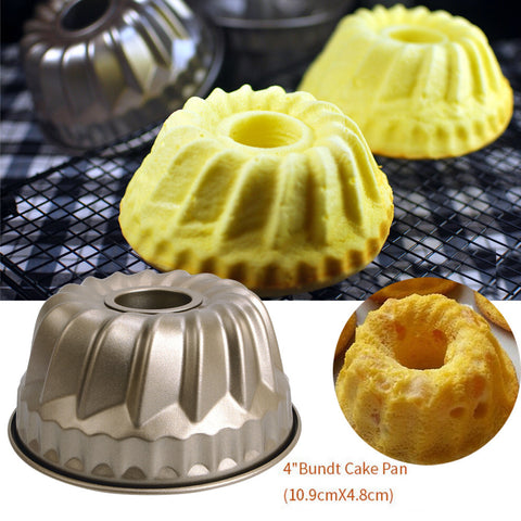 Nonstick Pineapple Chiffon Bakeware Mold Carbon Steel Fluted Cake Baking Pan