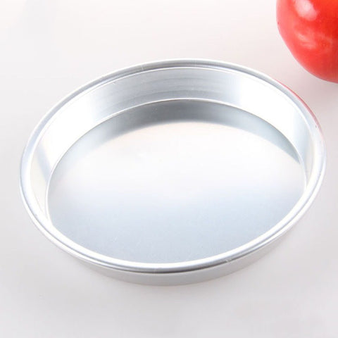 9-Inch Chef's Classic Nonstick Bakeware Round Cake Pan, Silver