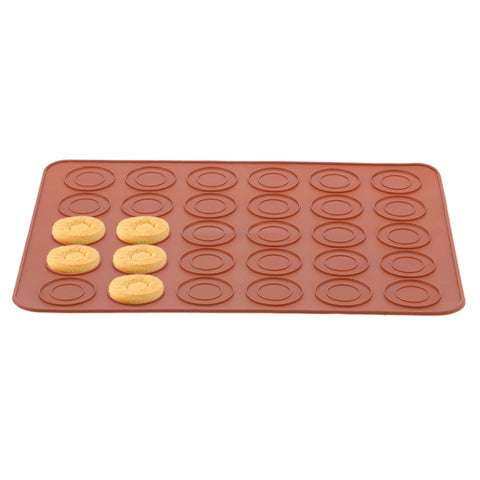 ABEDOE Macaron Silicone Pot Cake Decorating Pastry Tools Muffin/Cake DIY Food Grade Silicone Mold Baking Kitchen Baking Tool
