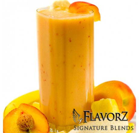 Banana Mango Peach Smoothie