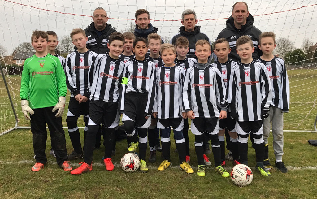 KidsQuads Sponsors the Isleham Youth Football Team - Under 11's