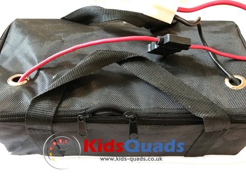 36v Battery Pack inc Bag - 3 x 12v 12aH for quads, scooters, go-karts,etc... - Kids Quads