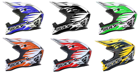 Wulfsport Advance Helmets - Adult - Kids Quads