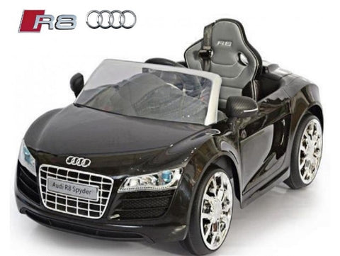 electric audi r8 spyder age up to 5 years 12v kids quads