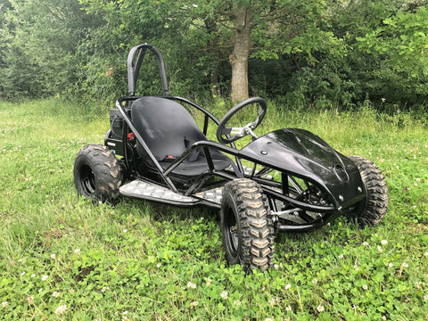 EXCLUSIVE: Electric GoKart (Age 6 to 15 years) 48v 1500w (NEW 2017 HIGH CAPACITY BATTERY) - Kids Quads