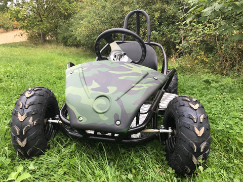 EXCLUSIVE: Electric GoKart (Age 6 to 15 years) 48v 1500w (NEW HIGH CAPACITY BATTERY) - Kids Quads