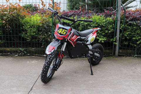 KQ1600 Electric Dirt Bike (Ages 8 to 13 years) 48v 1600w LITHIUM - Kids Quads