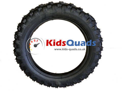 Off-Road (Dirt Tread) Tyre for Kids Moto Bike - Kids Quads