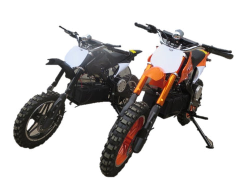 KQ800 Electric Dirt Bike (Ages 6 to 11 years) 36v 800w - Kids Quads