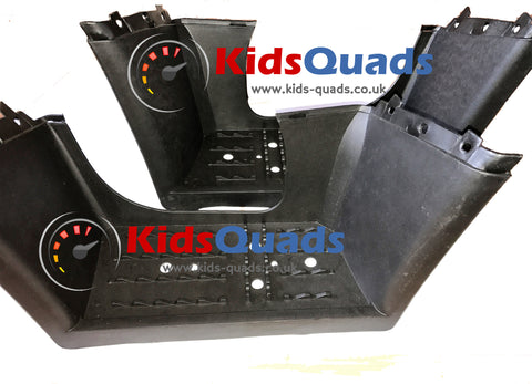 Set of Plastic Foot Rests for Teen Quad Bikes - Kids Quads