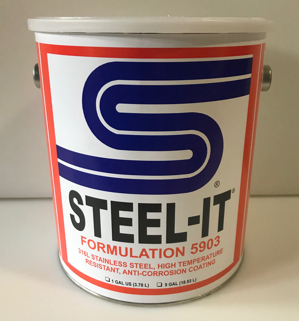 1 Gallon STEEL IT High Temperature Coating