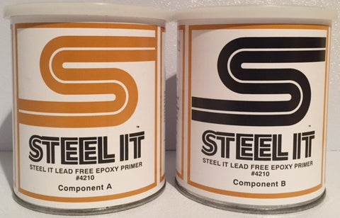 2 Quart Kit STEEL IT Lead-Free Epoxy Primer
