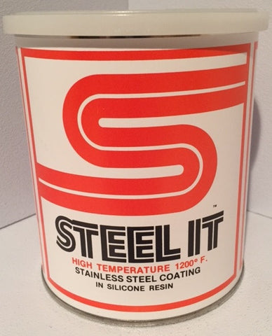 1 Quart STEEL IT High Temperature Coating