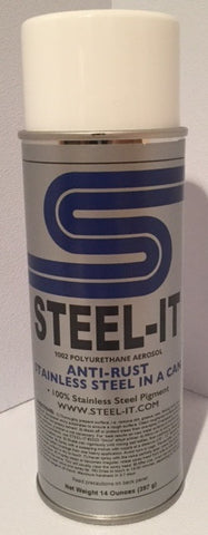 14oz Aerosol STEEL IT Polyurethane Resin Coating