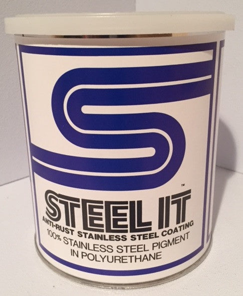 1 Quart STEEL IT Polyurethane Resin Coating