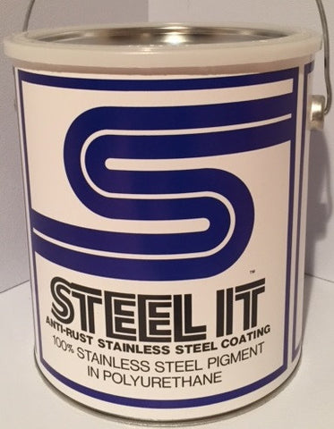 1 Gallon STEEL IT Polyurethane Resin Coating