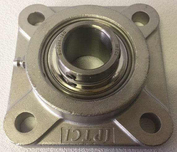 "1"" 4-Bolt Stainless Steel Flange"