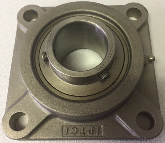"1-7/16"" 4-Bolt Stainless Steel Flange"