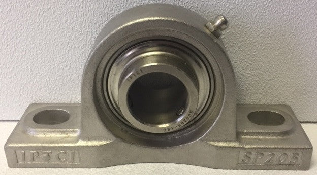 "1"" 2-Bolt Stainless Steel Flange Pillow Block"