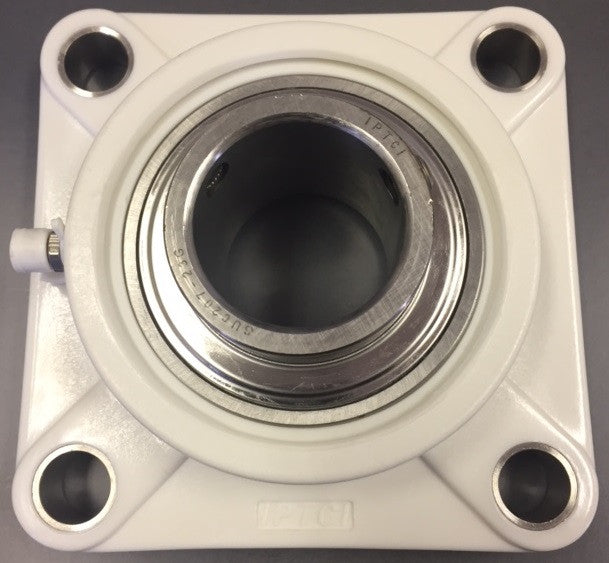 "1-7/16"" 4-Bolt Thermoplastic Flange"