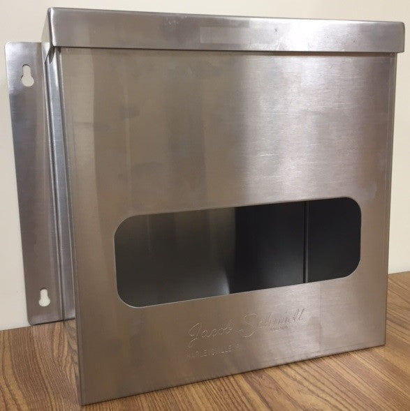 Single Compartment Dispenser - Wall Mounted