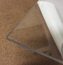 "1/4"" Thick Clear Polycarbonate ""Lexan"" (Cut to Size)"