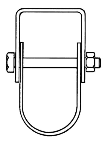 "1/2"" Clevis Pipe Hanger"