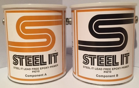 2 Gallon Kit STEEL IT Lead-Free Epoxy Primer