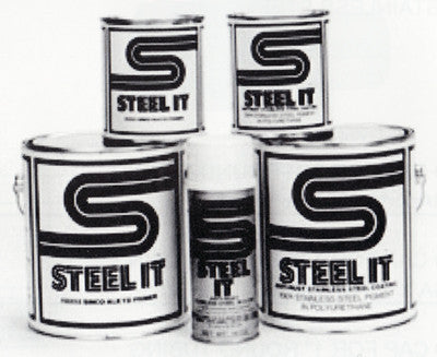 2 Gallon Kit STEEL IT Low VOC Epoxy Coating