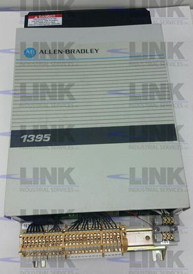 1395-B71-D1-P10-P51, Allen Bradley, 1395 DC Drive, 30hp, 460vac In, 500vdc Out