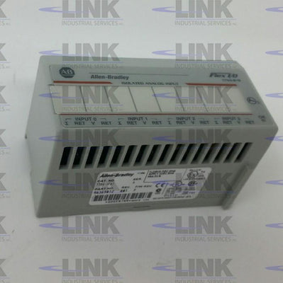 1794-IF4I, Allen Bradley, Flex I/O Isolated Analog Input Module