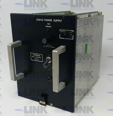 8917-4003, GEC Cegelec, GEM80 Power Supply