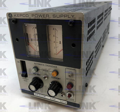 ATE75-0.7M, Kepco, Power Supply, 104-230vac 1.54-.7a In, 0-75vdc 0-.7a Out