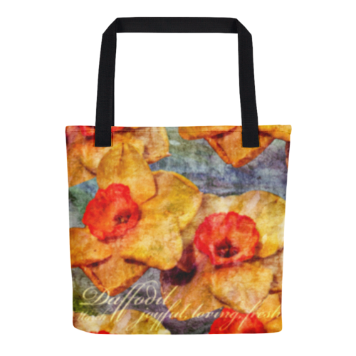 Birthday Blossom Tote Bag - March Daffodil